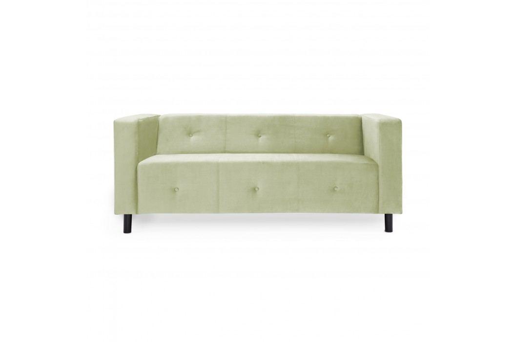 Canapea 3 locuri Milo Green Mint Canapele Fixe