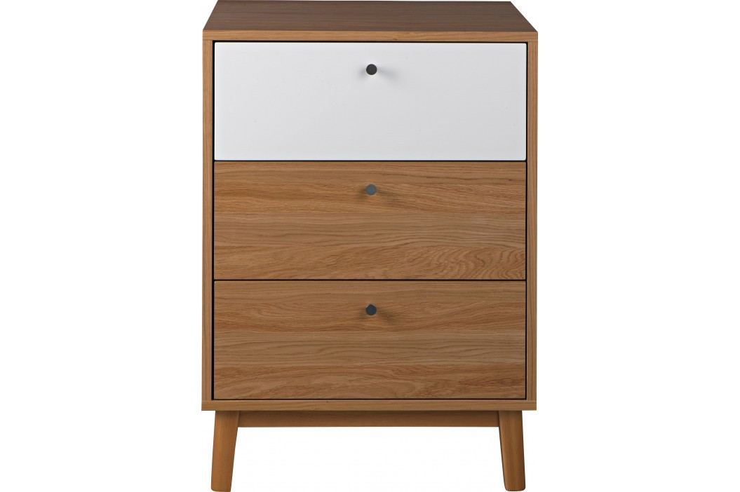 Cabinet Evie Oak / White L61xl47,5xh84,5 cm Living, Corpuri de Living