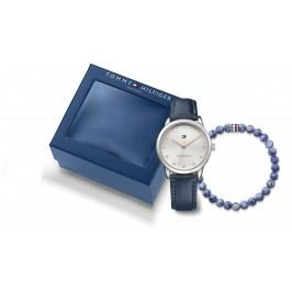 Tommy Hilfiger Set de bijuterii Albastru Argintiu