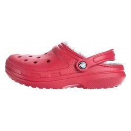 Crocs Classic Fuzz Lined Clog Crocs Roșu