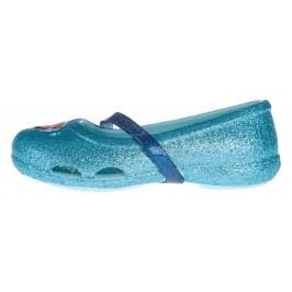 Crocs Crocs Lina Frozen™ Flat Balerini pentru copii Albastru