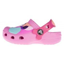 Crocs Creative Crocs Minnie™ Colorblock Clog Crocs pentru copii Roz