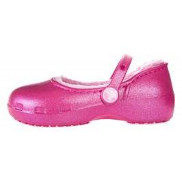 Crocs Karin Fuzz Lined Clog Balerini pentru copii Roz