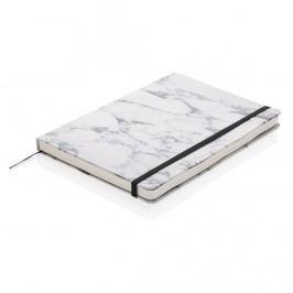 Agenda A5 Marble Deluxe, White