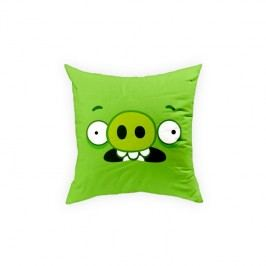Perna decorativa Angry Birds AB016 Green, L40xl40 cm