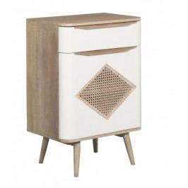 Cabinet II Canne Retro, L60xl40xh88 cm