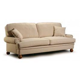 Canapea fixa 3 locuri tapitata cu stofa Oxford