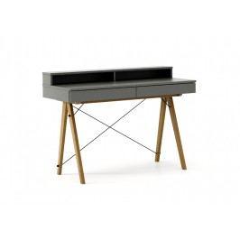 Masa de birou Basic Oak Grey, L100xl50xh85 cm