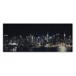 Tablou Sticla Glasspik Night, 50x125 cm