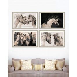 Tablou 4 piese Framed Art Tenderness