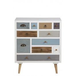 Cabinet cu 11 sertare Thais Colours