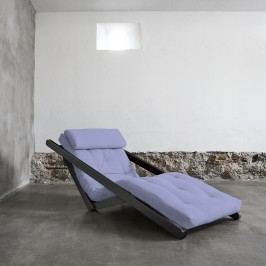 Fotoliu extensibil Figo Wenge Pastel Blue Breeze