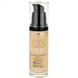 Bourjois 123 Perfect make up lichid  pentru look perfect culoare 55 Beige Fonce SPF 10  30 ml