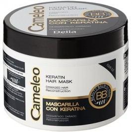 Delia Cosmetics Cameleo BB masca cu keratina pentru par deteriorat  500 ml