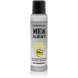 Dermacol Men Agent Total Freedom spray anti-perspirant  150 ml