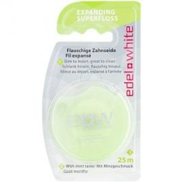 Edel+White Expanding Superfloss ata dentara aroma Mint 25 m