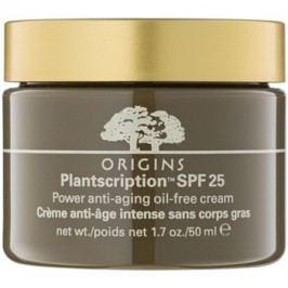 Origins Plantscription™ cremă anti-îmbătrânire oil free (SPF 25) 50 ml