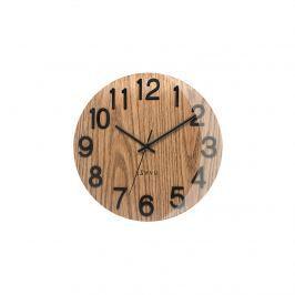 Nástěnné hodiny Lavvu Nord Black Oak, pr. 30 cm