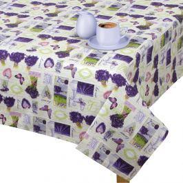 Faţă de masă Gita Provence - Lavandă în buchet, 70 x 70 cm, 70 x 70 cm