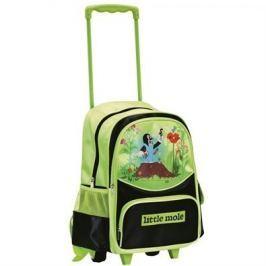 Bino  geamantan troller pentru copii, cu cârtiţă, verde