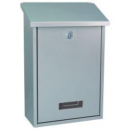 Cutie poştală din oţel Vigo, argintiu