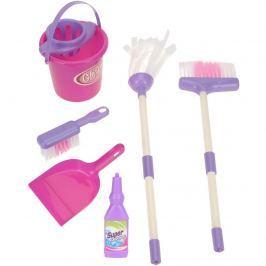 Set curăţenie copii Pink, 7 buc.