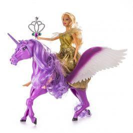 Păpușa cu unicorn, mov