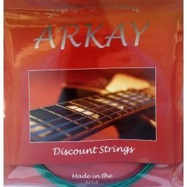 Aurora Arkay Standard Bass Guitar Strings 45-125 Green