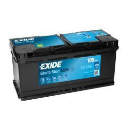 Baterie auto Exide Start-Stop AGM 105Ah 12V EK1050