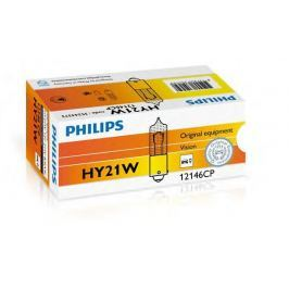 Set 10 becuri auto Philips Vision HY21W 21W 12V 12146CP
