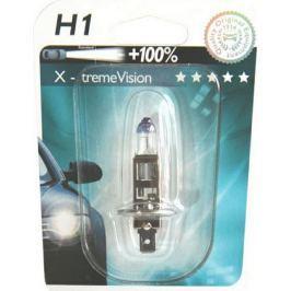 Bec auto halogen pentru far Philips X-treme Vision 100% H1 55W 12V 12258 XVB1