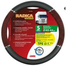 Husa volan camion Lampa Radica negru cu rosu