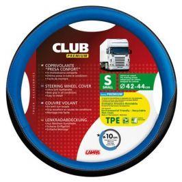 Husa volan camion Lampa Club albastru si negru