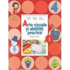 Arte vizuale si abilitati practice Clasa 4 Caiet Sem.1 + CD - Cristina Rizea Daniela Stoicescu